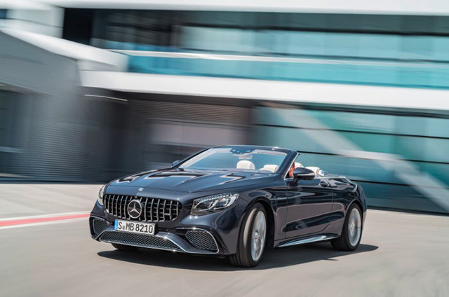 Mercedes S‑Class Cabriolet