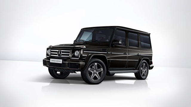Mercedes-Benz G 350 d Limited Edition- экстерьер